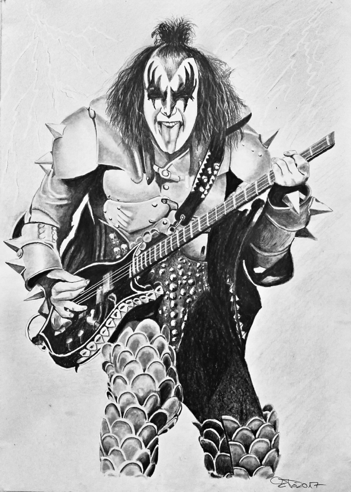 Gene Simmons by Mito